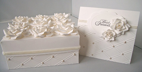 Cards and Cake boxes